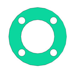 "Picture of 1/16"" Thick Thermoseal C4324 Full Face Gasket"