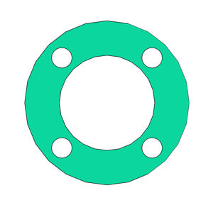 """Picture of 1/8"""" Thick Thermoseal C4401 Full Face Gasket"""