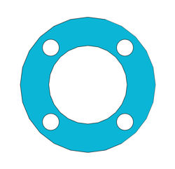 "Picture of 1/16"" Thick Durlon 9000 Full Face Gasket"